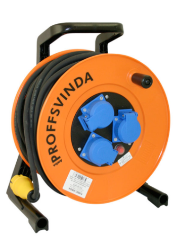 Kabelvinda PROFFS 16A/230V 3-V 40M