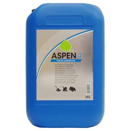 Alkylatbensin Aspen 4, 25 liter