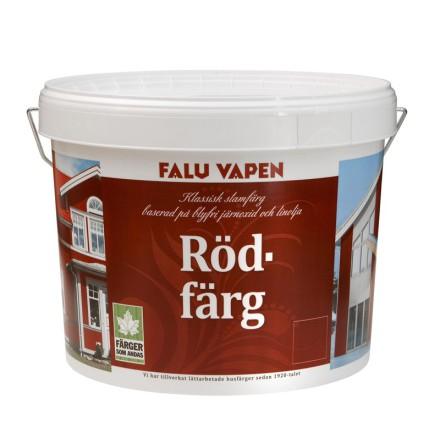Falu Vapen Rödfärg