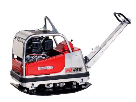 Fram och backgående markvibrator FB 450
