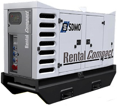 Rental 15-200kva Dieselelverk