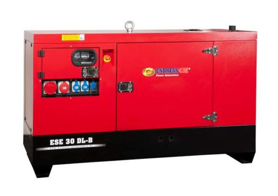 30-500kva Dieselelverk