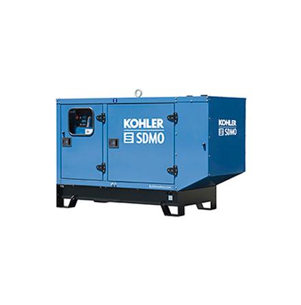 Dieselelverk SDMO J44K Kapslad