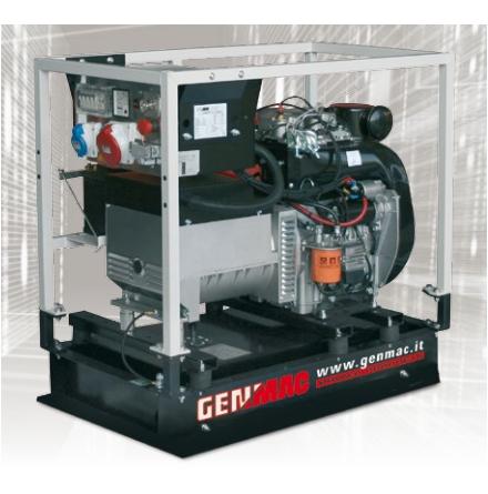 Dieselelverk Genmac Minicage 16500YE