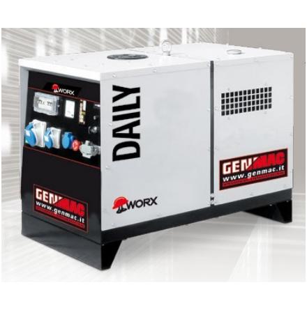 Dieselelverk Genmac Daily G6500YS