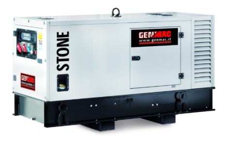 Dieselelverk Genmac Stone G40YS