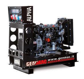 Dieselelverk Genmac Alpha G60PO