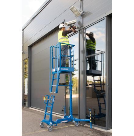 Justerbar arbetsplattform Ixolift 400WS