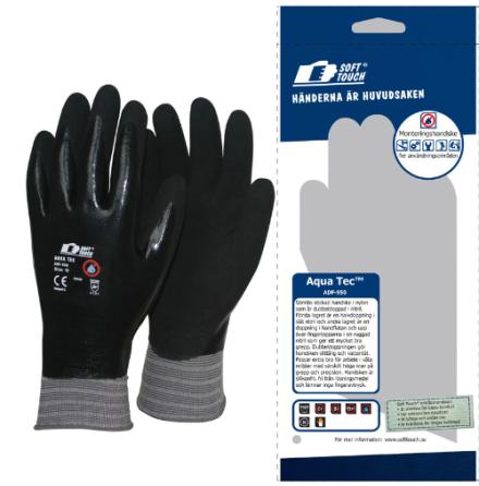 Soft Touch Aqua Tec Handske