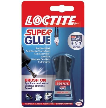 Snabblim brush on Loctite
