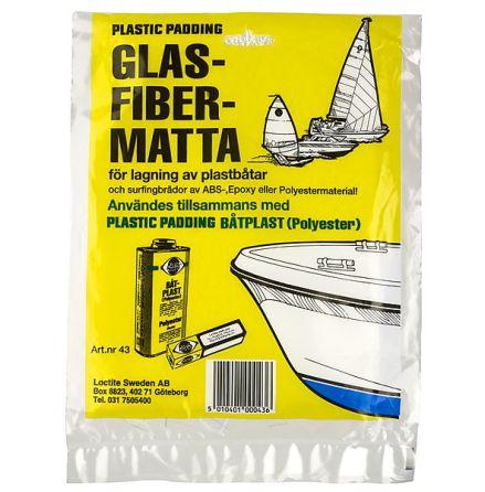 Glasfibermatta Plastic Padding