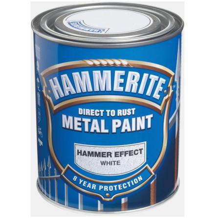 Hammarlack 750ml Vit Hammerite