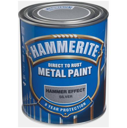 Hammarlack 750ml Silver Hammerite
