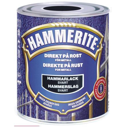 Hammarlack 750ml Svart Hammerite