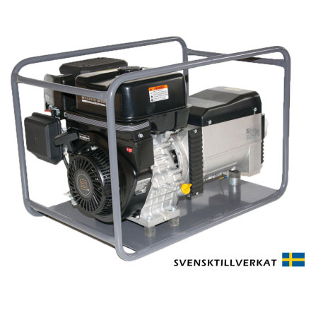 Beg. Bensinelverk KVM V 4008E Extra Power med elstart