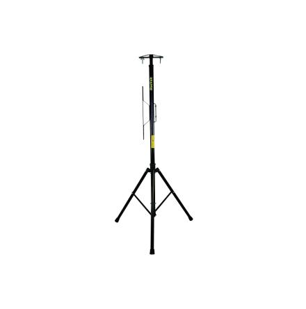 Stativ för arbetsbelysning med kabelupphäng