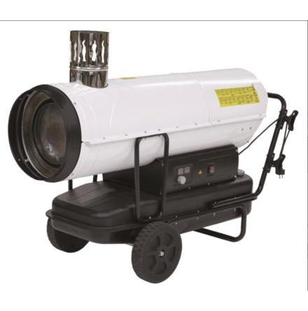Dieselkanon 50kW med skorsten