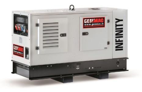 Dieselelverk Genmac Infinity RENT G20YS-M5