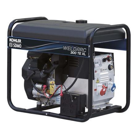 Motorsvets SDMO WELDARC 300 TE XL C5