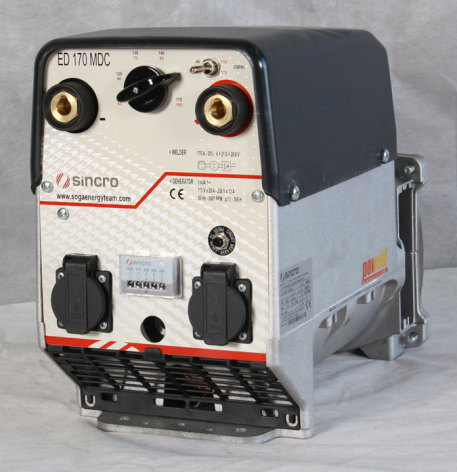 Generator Sincro ED 170 MDC 45-170 A