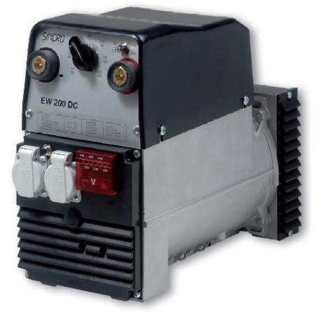 Generator Sincro EW 200 DC 50-200 A