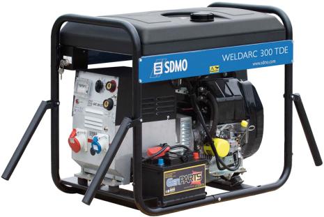Motorsvets SDMO WELDARC 300 TDE Dieselmotor