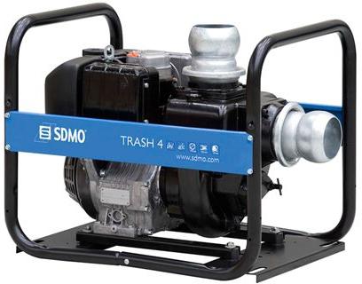 Vattenpump SDMO TRASH 4 Diesel