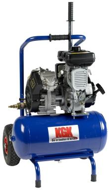 Bensindrivna kompressorer