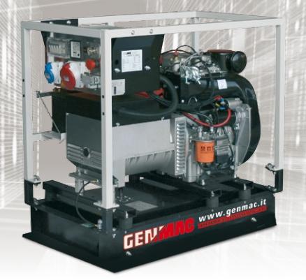 Dieselelverk Genmac Minicage 13500YE